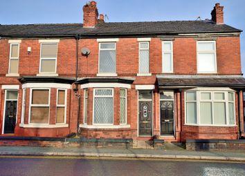 Thumbnail 3 bed terraced house for sale in Marsh House Lane, Warrington