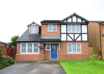 Thumbnail 4 bed detached house for sale in Stapeley Gardens, Halewood, Liverpool
