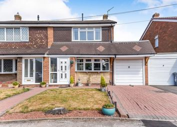 Thumbnail 3 bed semi-detached house for sale in Saredon Close, Pelsall, .