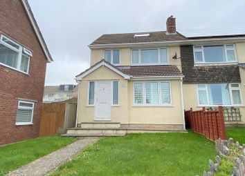 Thumbnail 4 bedroom semi-detached house for sale in Highclere Gardens, Widewell, Plymouth