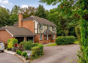 Thumbnail 4 bed detached house for sale in Tregarn Court, Langstone, Newport