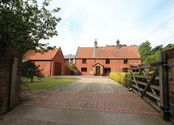 Thumbnail 3 bed property for sale in Oaks Lane, Postwick, Norwich