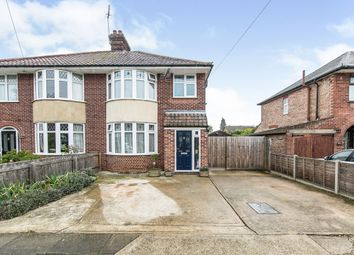 Thumbnail 3 bed semi-detached house for sale in Ipswich, Suffolk, Na