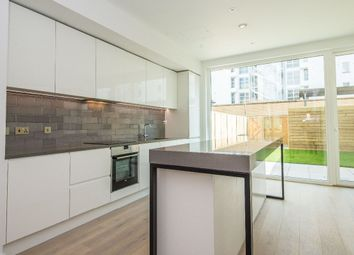 Thumbnail 3 bed terraced house to rent in Starboard Way, Royal Wharf, London