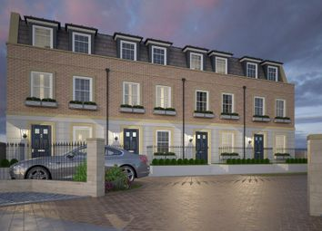 Thumbnail 4 bed town house for sale in Serpentine Road, Southsea