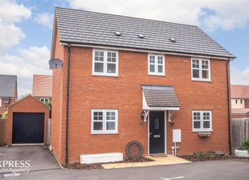 Thumbnail 3 bed detached house for sale in Tiree Court, Newton Leys, Bletchley, Milton Keynes, Buckinghamshire