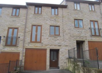 Thumbnail 3 bed town house to rent in Calton Road, Thwaites Brow, Keighley