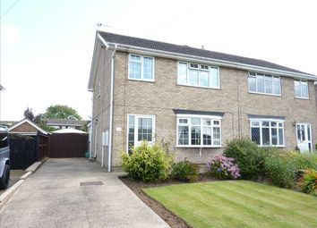 Thumbnail 3 bed semi-detached house for sale in Harneis Crescent, Laceby, Near Grimsby