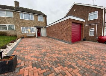 Thumbnail 3 bed semi-detached house for sale in Fineshade Avenue, Leicester
