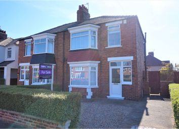 Thumbnail 3 bed semi-detached house for sale in Broadgate Road, Linthorpe, Middlesbrough