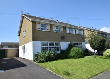 Thumbnail 3 bed semi-detached house for sale in Winford Close, Portishead, Bristol