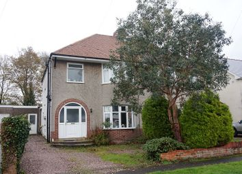Thumbnail 3 bed semi-detached house for sale in Mount Earl, Bridgend, Bridgend County.