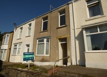 Thumbnail 2 bed terraced house to rent in Portia Terrace, Mount Pleasant, Swansea