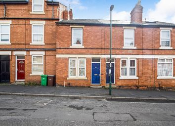 Thumbnail 2 bed terraced house for sale in Latham Street, Nottingham