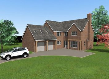 Thumbnail 5 bed detached house for sale in Plot 3, Shaw Park, Weston Lane, Oswestry, Shropshire