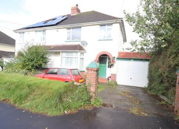 Thumbnail 3 bed semi-detached house for sale in Chaddiford Lane, Barnstaple