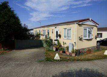 Thumbnail 1 bed mobile/park home for sale in The Willows, Ford Road, Ford, Arundel