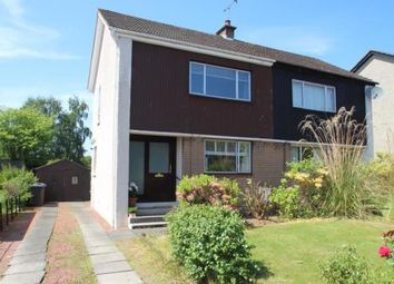 Thumbnail 2 bed semi-detached house for sale in Brisbane Road, Bishopton, Renfrewshire