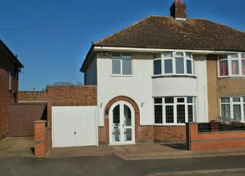 Thumbnail 3 bedroom semi-detached house for sale in Southfield Road, Duston Village, Northampton