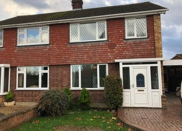 Thumbnail 3 bed semi-detached house to rent in Commercial Road, Staines, Middlesex