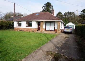 Thumbnail 3 bedroom bungalow for sale in Old Odiham Road, Alton