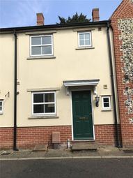 Thumbnail 3 bedroom terraced house to rent in Timber Road, East Harling, Norwich