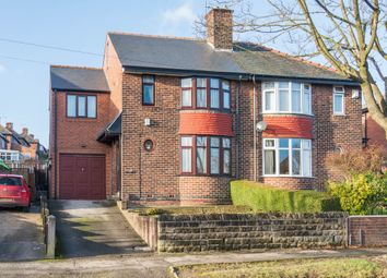 Thumbnail 4 bedroom semi-detached house for sale in Lees Hall Road, Sheffield