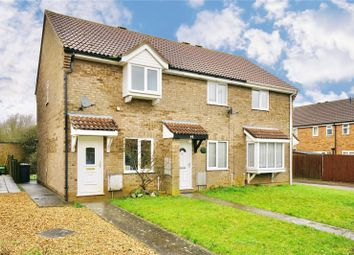 Thumbnail 2 bed end terrace house for sale in Alder Close, Eaton Ford, St. Neots, Cambridgeshire