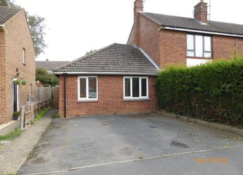 Thumbnail 1 bed semi-detached bungalow to rent in Longlands Road, Bishops Cleeve, Cheltenham