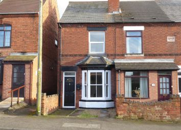 Thumbnail 2 bed end terrace house for sale in Ashby Road, Donisthorpe