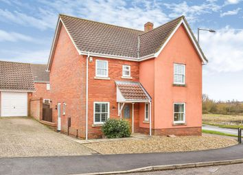 Thumbnail 4 bed detached house to rent in Bendish Way, Norwich