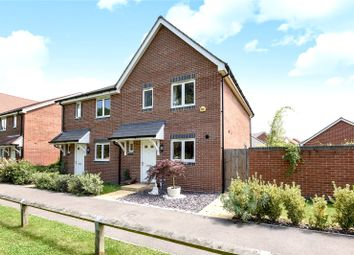 Thumbnail 3 bedroom semi-detached house for sale in Elk Path, Three Mile Cross, Reading, Berkshire