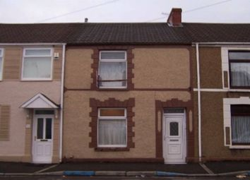 Thumbnail 3 bed terraced house to rent in Fleet Street, Swansea
