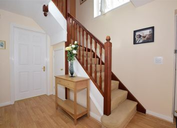 Thumbnail 4 bed detached house for sale in Pritchard Drive, Hawkinge, Folkestone, Kent