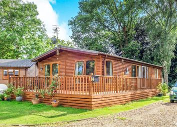 Thumbnail 2 bed lodge for sale in Lodge Park, Haveringland, Norwich