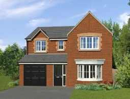 Thumbnail 4 bed detached house for sale in The Brampton, Station Road, South Molton, Devon
