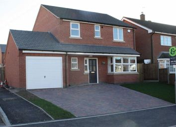 Thumbnail 4 bed detached house for sale in Hayfield Close, Glenfield, Leicester