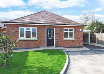 Thumbnail 3 bed bungalow for sale in Goodes Avenue, Syston, Leicester, Leicestershire