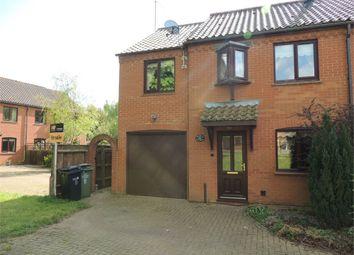 Thumbnail 3 bedroom semi-detached house for sale in Glosthorpe Manor, Ashwicken, King's Lynn