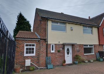 Thumbnail 3 bed semi-detached house for sale in Slatyford Lane, Slatyford, Newcastle Upon Tyne
