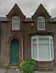 Thumbnail 4 bedroom terraced house to rent in Alice Street, Ashbrooke, Sunderland, Tyne And Wear