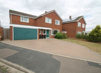 Thumbnail 4 bed detached house for sale in Purbeck Close, Aylesbury