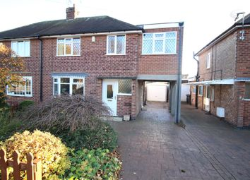 Thumbnail 4 bedroom semi-detached house for sale in Long Lane, Attenborough, Beeston, Nottingham