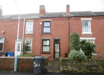 Thumbnail 2 bed terraced house to rent in Vincent Crescent, Chesterfield
