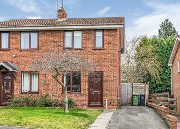 Thumbnail 2 bed semi-detached house for sale in Austin Close, Milking Bank, Dudley