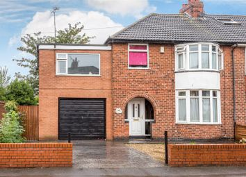Thumbnail 5 bed semi-detached house for sale in Carlton Avenue, York