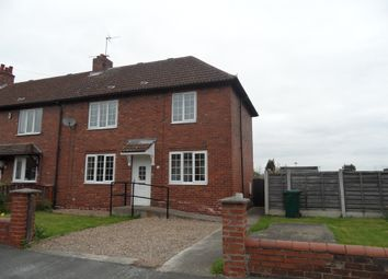 Thumbnail 3 bed end terrace house for sale in Fourth Avenue, Woodlands, Doncaster