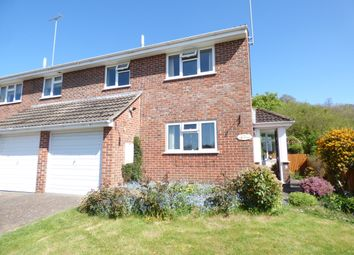 Thumbnail 3 bed semi-detached house for sale in Downside Close, Mere