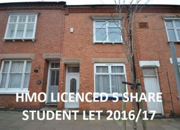 Thumbnail 4 bed terraced house for sale in Hartopp Road, Leicester
