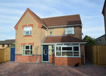 Thumbnail 4 bed detached house for sale in Leabrook Close, Bury St. Edmunds
